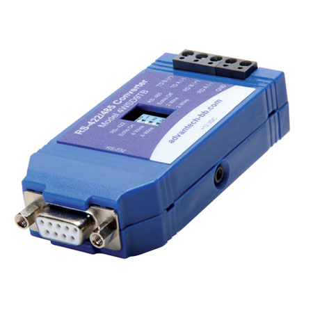 Port Powered RS-232 to RS-422/485 Converter - DB9F/TB