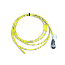 Cable, Twisted, shielded pair cable, yellow Teflon<sup>®</sup> jacket,