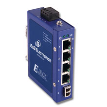 ETN UNMANAGED SWITCH 4 COPPER, 1 SINGLE-MODE LC