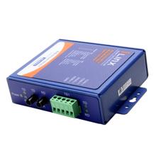 Serial Converter, RS-232/422/485 TB to MM Fiber ST, Ind. Panel, C1D2