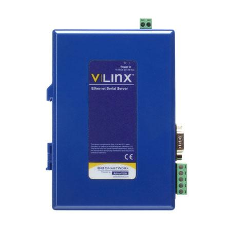 Industrial Modbus Ethernet/Serial Gateway - DB9/TB, (2) RJ45