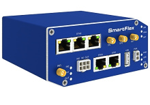 SmartFlex, Global, 5x ETH, WIFI, PoE PD, Metal, ACC EU