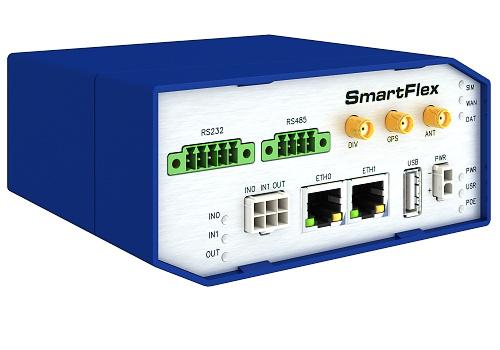 SmartFlex, NAM, 2x ETH, 1x RS232, 1x RS485, Plastic, No ACC