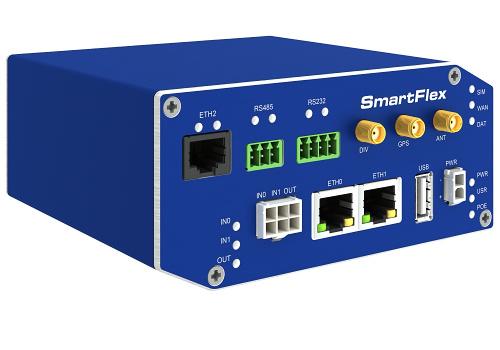 SmartFlex, NAM, 3x ETH, 1x RS232, 1x RS485, Metal