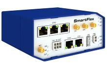Modular LTE Router with SmartWorx Hub (5xETH, USB, 2xI/O, SD, 2xSIM, Wi-Fi)