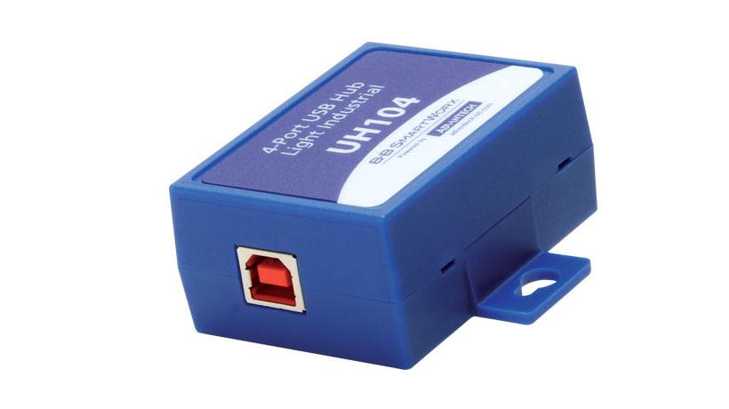 4-port High Retention USB High Speed Hub
