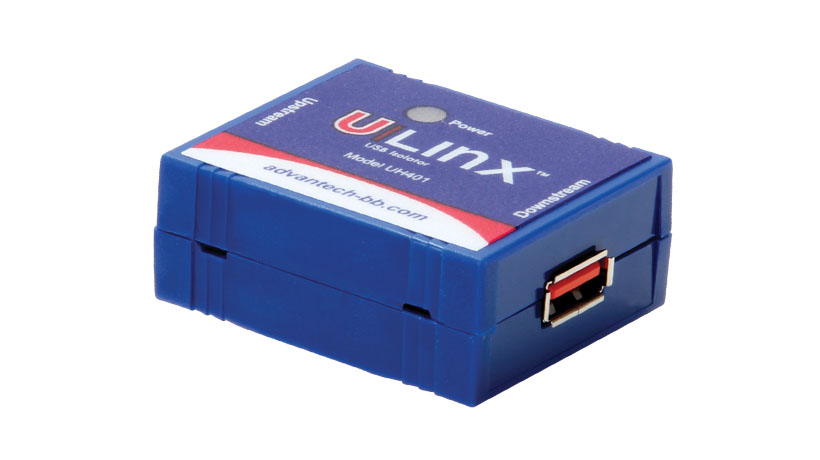 1-port USB 4 kV Isolator - 12 Mbps Full Speed (USB cable included, 0.9m)