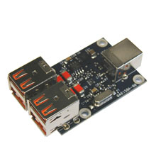 Four-port USB Hub - Open Board OEM Module (single unit)
