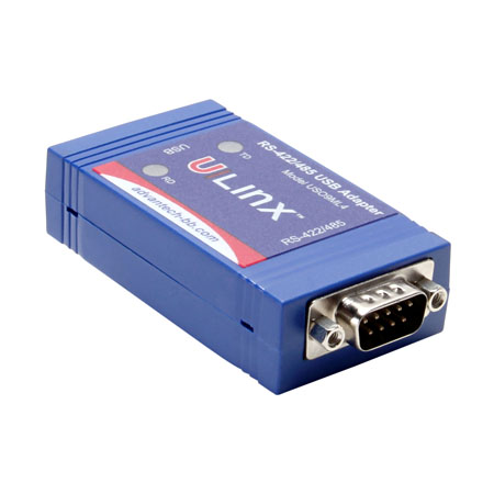 USB to RS-422/485 DB9 Inline Converter (USB cable included)