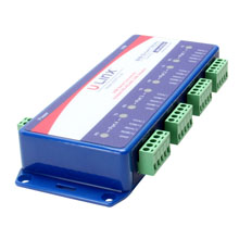 Isolated USB 4-port to RS-422/RS-485 Converter (USB cable included)