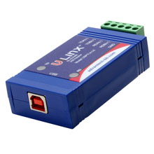 RS-422/485 Inline USB Converter - non-isolated, Locked Serial Number (USB cable included)