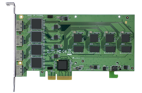 4-Channel Full HD PCIe Video Compression Card with SDK