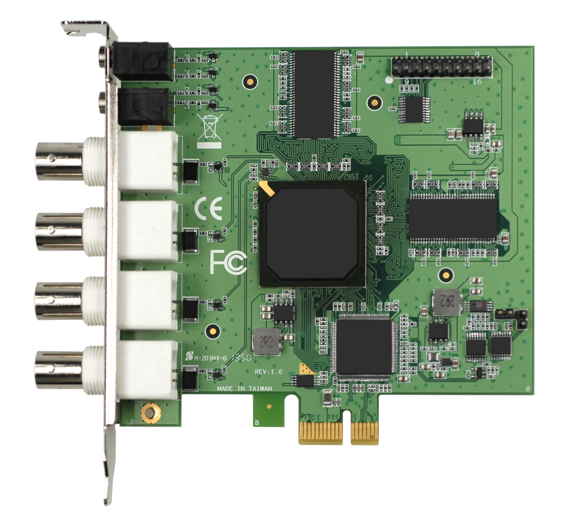 CIRCUIT BOARD, PCIe 4CH H.264 HW COMPRESSION VIDEO CARD