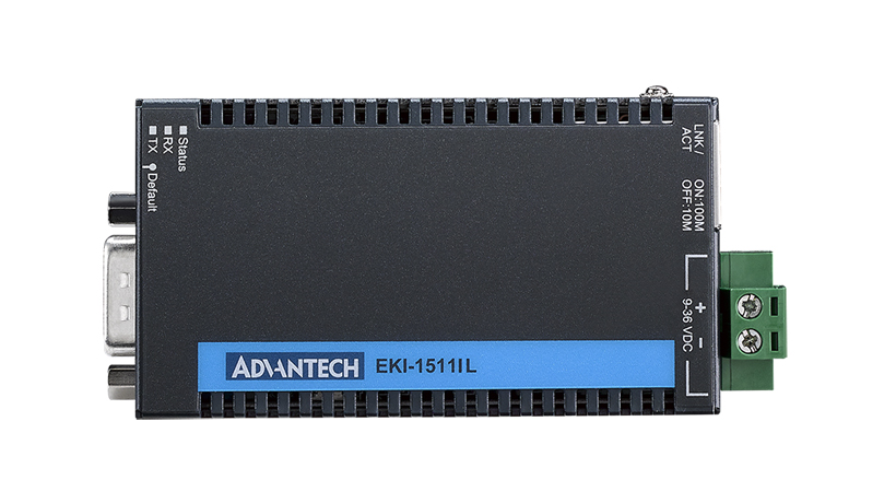 1-port entry level device server RS-232 with Wide Operating Temperature