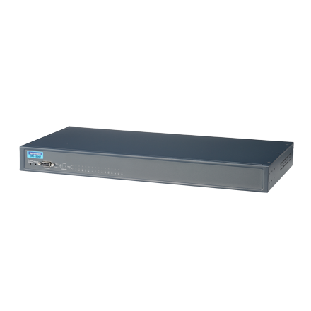 16-port RS-232/422/485 Serial Device Server