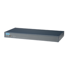 16-port RS-232/422/485 Serial Device Server w/ DC Input
