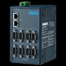 8-port RS-232/422/485 Device Server