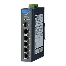 5GE+1G SFP Unmanaged Industrial PoE Switch