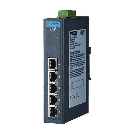 5-port Ind. Unmanaged GbE Switch