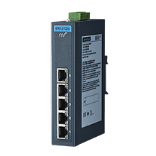 ETHERNET DEVICE, 5-port Ind. Unmanaged GbE Switch