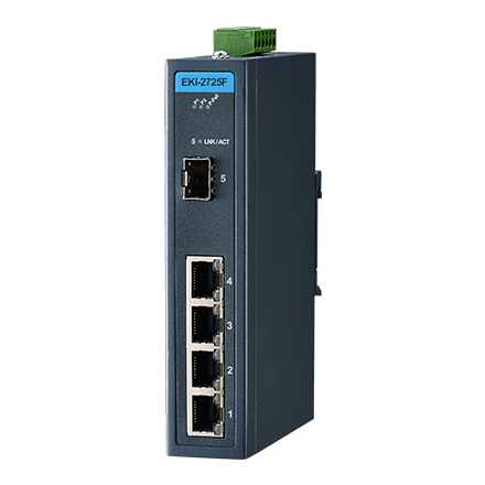 4 GE + 1 SFP Ind. Unmanaged Switch