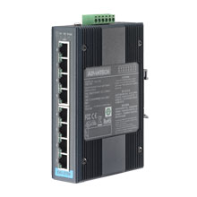 8-port Ind. Unmanaged GbE Switch (Green)