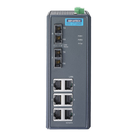 6G+2G SM Unmanaged Ethernet Switch