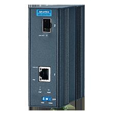 1 Port GbE PoE to SFP Fiber Media Converter