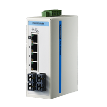 ProView 4-Port 10/100M +2 Multi Mode SC - Unmanaged Industrial Switch w Diagnostics, Wide Temp -10~60℃