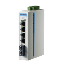 ProView 4-Port 10/100Mb +1 Multi Mode SC - Unmanaged Industrial Switch w Diagnostics, Extreme Temp -40~75℃