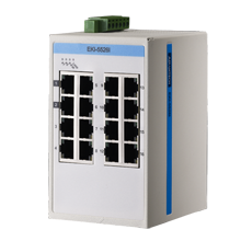 16 Port 10/100Mbps Unmanaged Ethernet Switch, ATEX/C1D2/IECEx, -40 to 75℃
