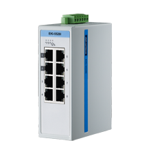 8 Port 10/100Mbps Unmanaged Ethernet Switch, ATEX/C1D2/IECEx, -40 to 75℃