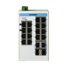 ProView 16-Port Gigabit Industrial Switch with 2x RJ45/SFP Combo, Extreme Temp -40~75℃