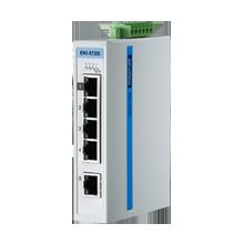 ProView 5-Port Gigabit Industrial Switch, Extreme Temperature -40~75℃