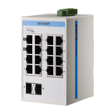 ProView 16-Port Gigabit Industrial Switch with 2x SPF, Extreme Temp -40~75℃