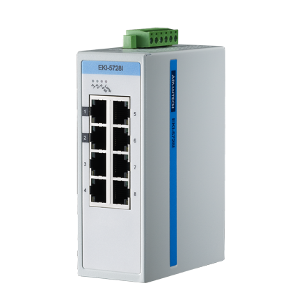 ProView 8-Port Gigabit Industrial Switch, Extreme Temp -40~75℃