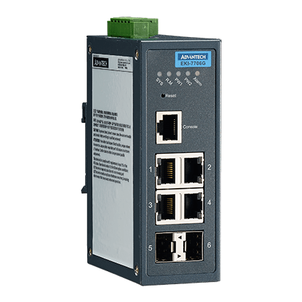 4GE+2G SFP Managed Ethernet Switch