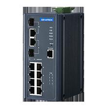 ETHERNET DEVICE, 8G + 2G Combo Managed POE+ switch
