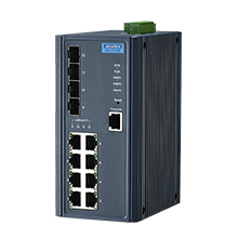 8 Gigabit Ethernet + 4SFP Managed Switch