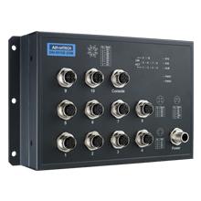 EN50155 M12 10FE + 2G Managed SW, 24~48