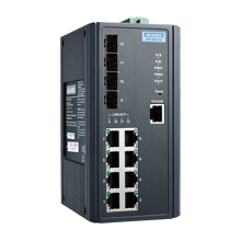 8G + 4SFP L3 Managed Ethernet Switch Wide Temperature