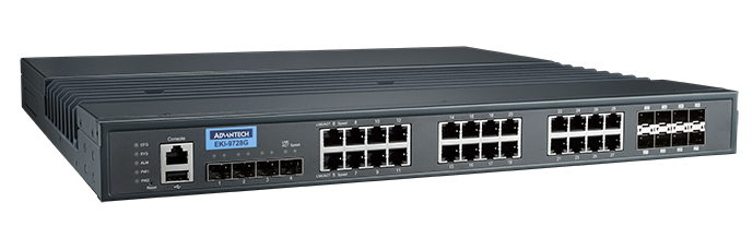Industrial Rackmount L3 Managed Switch