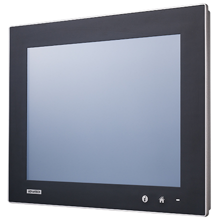 "15"" XGA Industrial Monitor with Resistive Touchscreen"