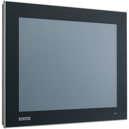"15"" XGA Industrial Monitors with Resistive Touch Control,Direct HDMI, DP, and VGA Ports"
