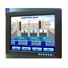 "LCD DISPLAY, 12.1"" SVGA WT Ind. Monitor w/ Resistive TS"