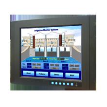 "LCD DISPLAY, 15"" XGA WT Ind. Monitor w/ Resistive TS"