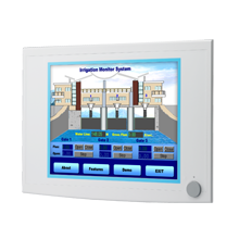 "15"" XGA Industrial Monitors with Resistive Touchscreens, Direct-VGA, and DVI Ports"