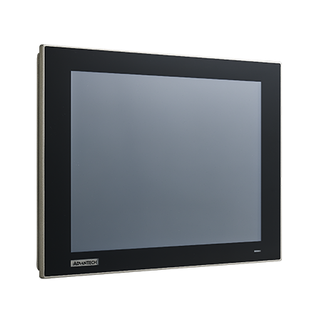 "12.1"" XGA Industrial Monitor with Resistive Touchscreen (VGA/DP)"