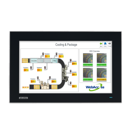 """15.6"""" Industrial Monitor with Projected Capacitive Touchscreen"""