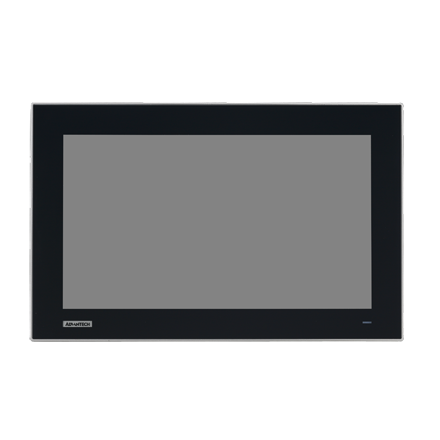 "15.6"" Widescreen Industrial Monitor, with Projected Capacitive Touch, Direct-VGA/DVI & HDMI Ports"
